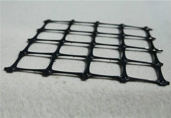 双向塑料土工格栅细节