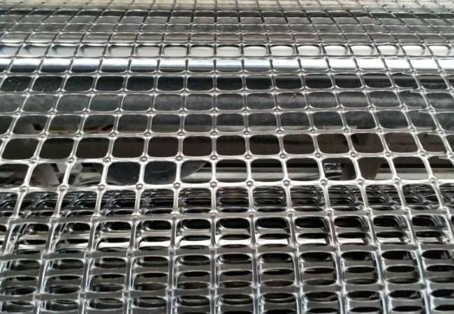双向塑料土工格栅厂家生产中(图)